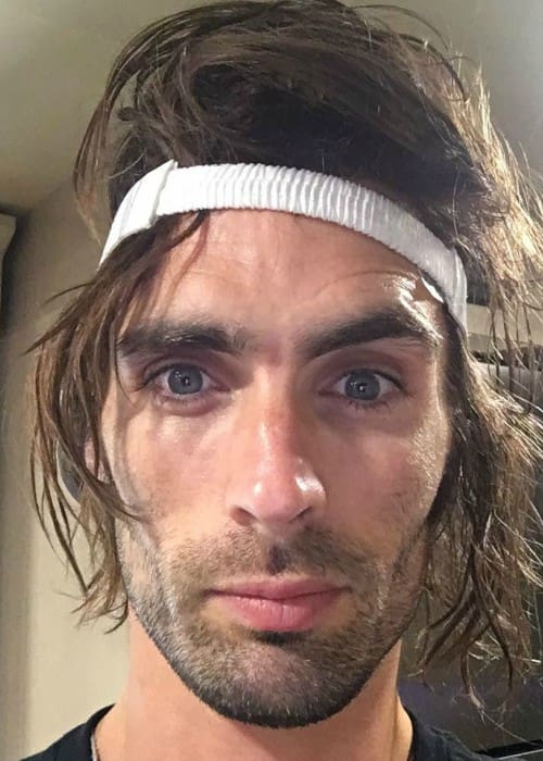 Tyson Ritter in an Instagram selfie as seen in August 2017