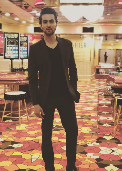 Vibhav Roy as seen in a picture taken at the Big Daddy Casino, Goa, in May 2019