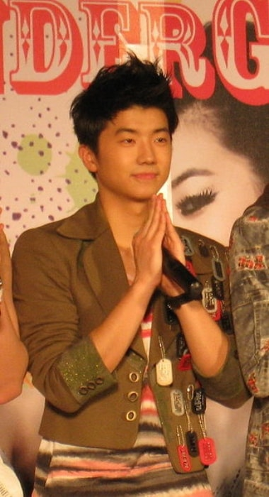 Wooyoung as seen in February 2009