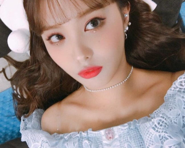 Ahin as seen in a selfie in April 2019