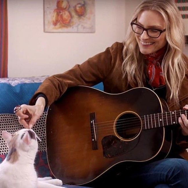 Aimee Mann as seen in March 2017