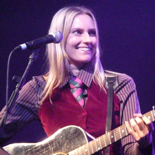 Aimee Mann as seen in October 2008