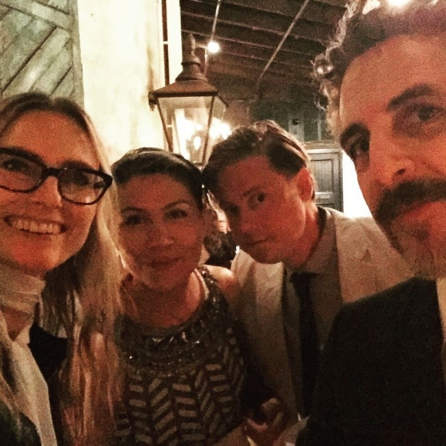 Aimee Mann with her friends as seen on October 2015