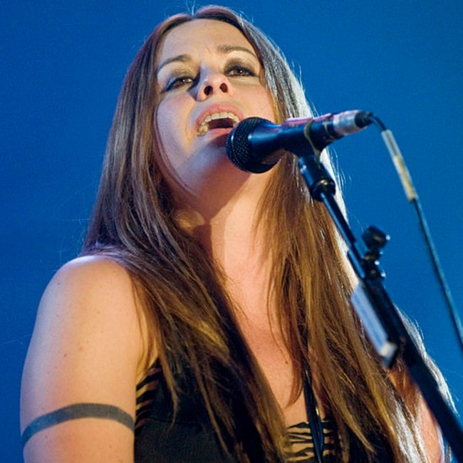 Alanis Morissette as seen in June 2008