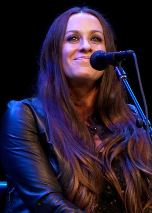 Alanis Morissette as seen in May 2014