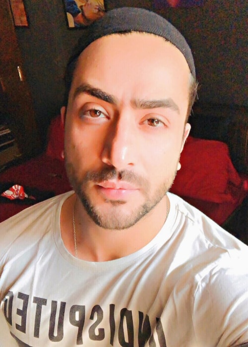 Aly Goni as seen in a selfie taken in September 2018