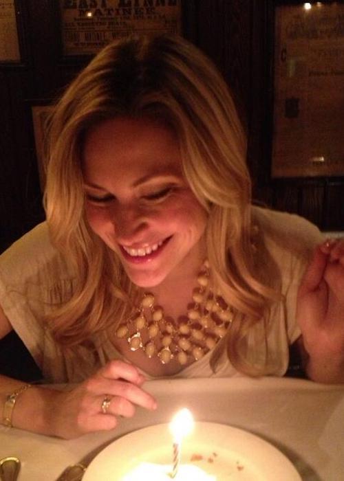 Amanda Loncar on her birthday
