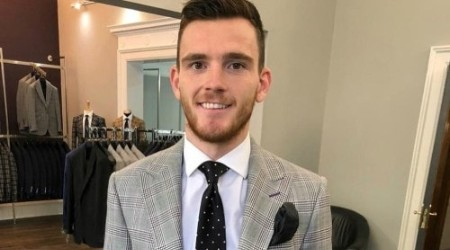 Andrew Robertson Height, Weight, Age, Body Statistics