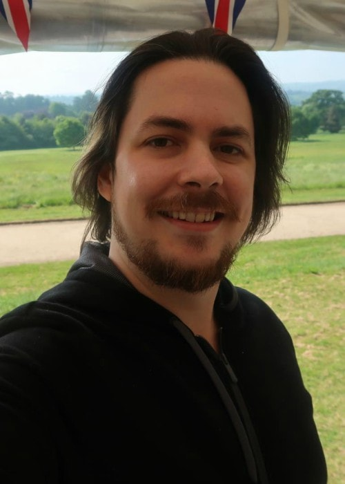 Arin Hanson in a selfie in May 2018