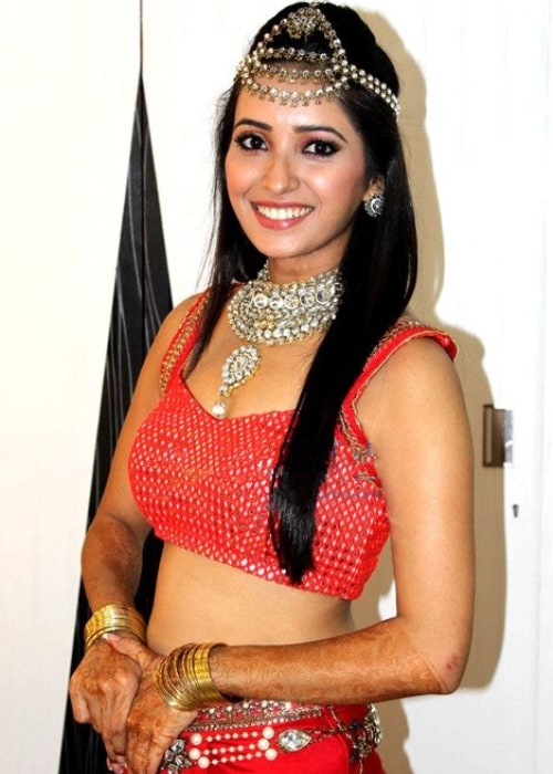 Asha Negi as seen in a picture at the 13th Indian Telly Awards function in October 2014
