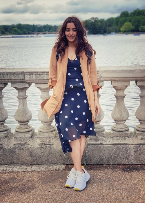 Asha Negi as seen in a picture taken in June 2019