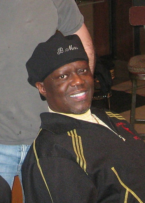 Bernie Mac at Capitol Studios as seen in 2007
