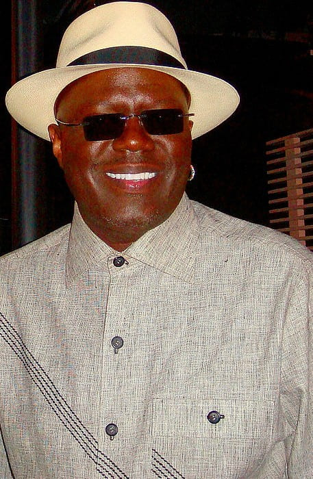 Bernie Mac at the Transformers film premiere in 2007