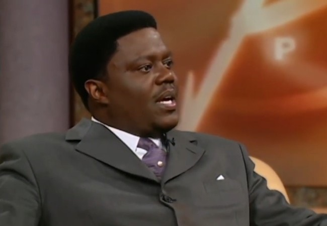 Bernie Mac during an interview on The Oprah Winfrey Show
