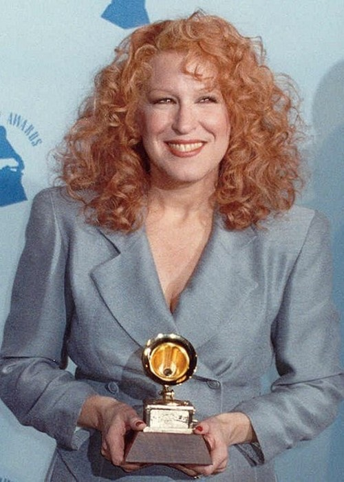 Bette Midler as seen in February 1990