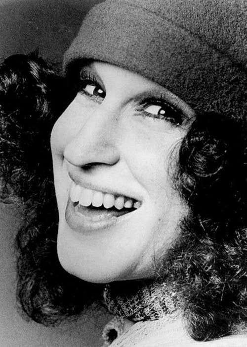 Bette Midler's photograph from August 1973