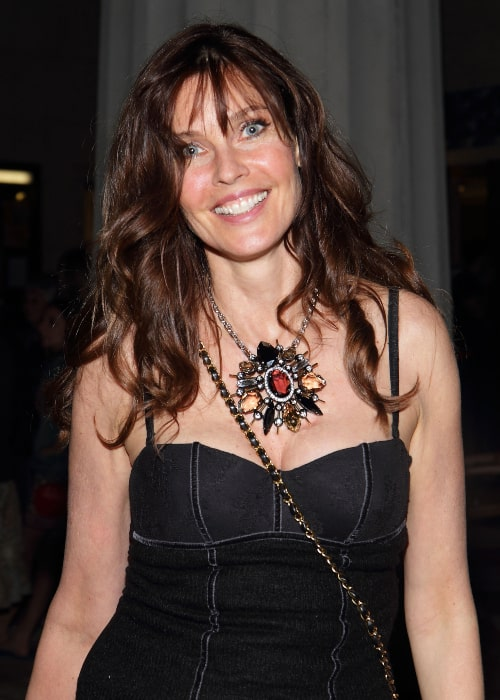 Carol Alt as seen in a picture taken at the 2012 Miami International Film Festival screening of About Face - The Supermodels Then And Now at Coral Gables Art Cinema