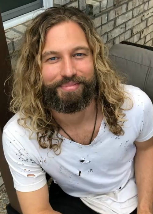 Casey James in an Instagram post in August 2019