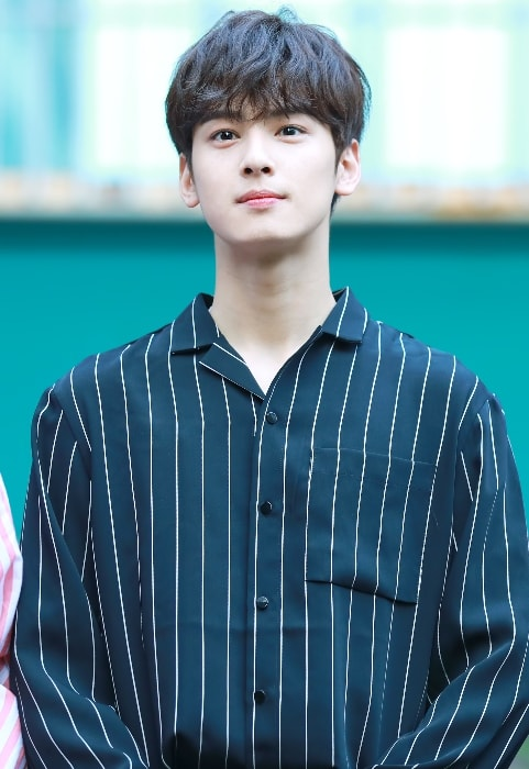 Cha Eun-woo as seen in September 2017