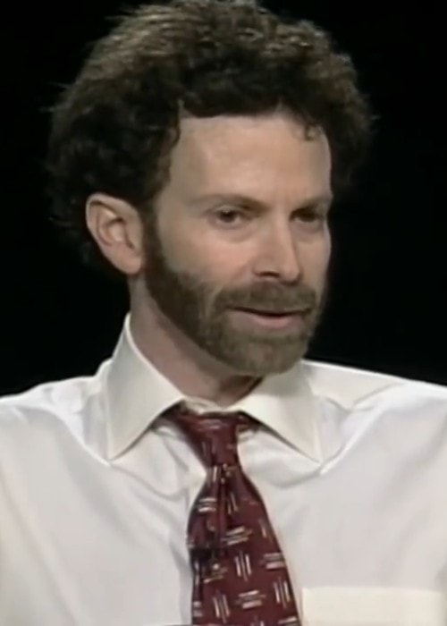 Charlie Kaufman during an interview as seen in 2004