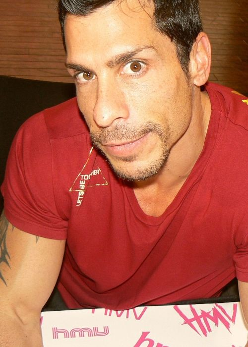 Danny Wood of New Kids on the Block in London in 2008