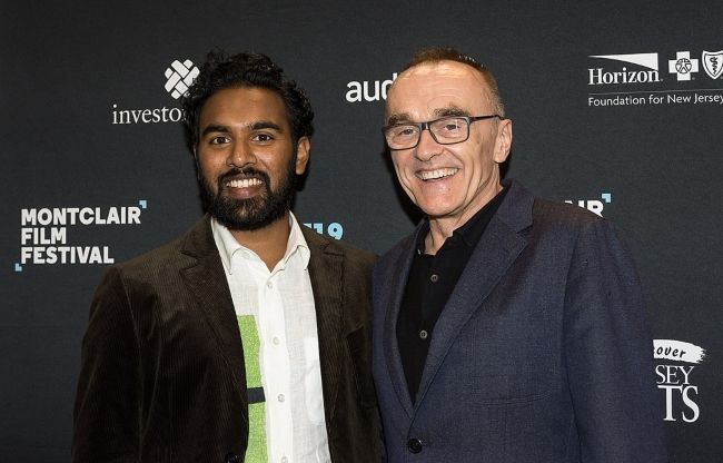 Danny posing with actor Himesh Patel from his film Yesterday at the Montclair Film Festival in 2019