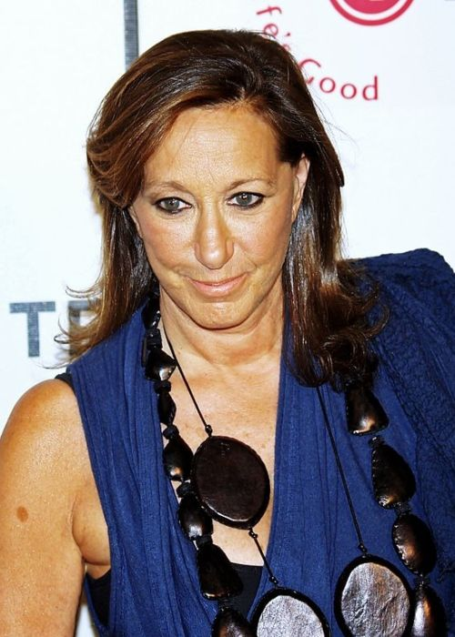 Donna Karan at the premiere of the documentary film I Am Because We Are at the 2008 Tribeca Film Festival