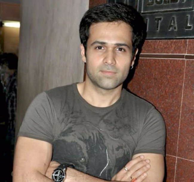 Emraan Hashmi as seen at film Once Upon A Time In Mumbaai's screening in July 2010