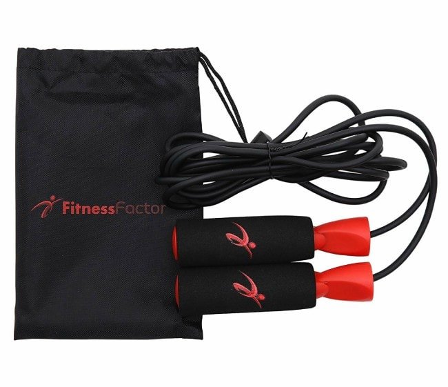 Fitness Factor Adjustable Jump Rope
