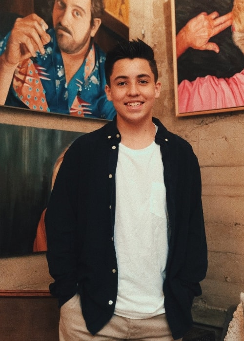 Freddy Pomee as seen while posing for the camera in Los Angeles, California, United States in March 2019