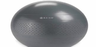 Gaiam Exercise Ball Review