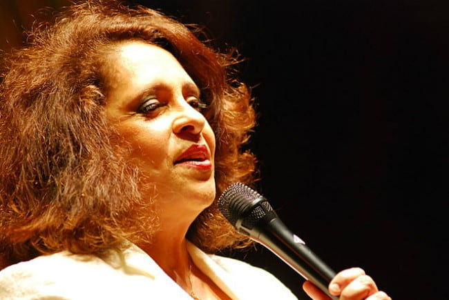 Gal Costa during an event in April 2008