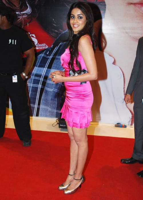 Genelia D'Souza as seen in a picture taken at the premiere of Jaane Tu... Ya Jaane Na