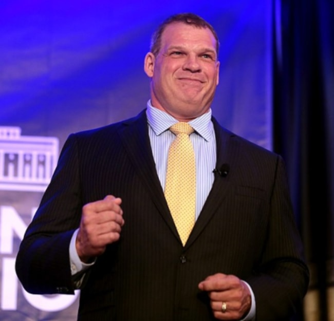 Glenn Jacobs as seen speaking with attendees at the 2017 Young Americans for Liberty National Convention at the Sheraton Reston, Virginia in July 2017