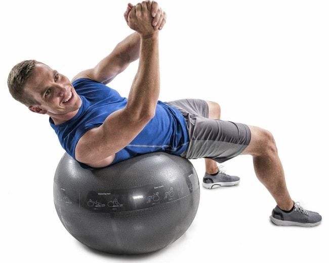 GoFit Pro Exercise Ball workout