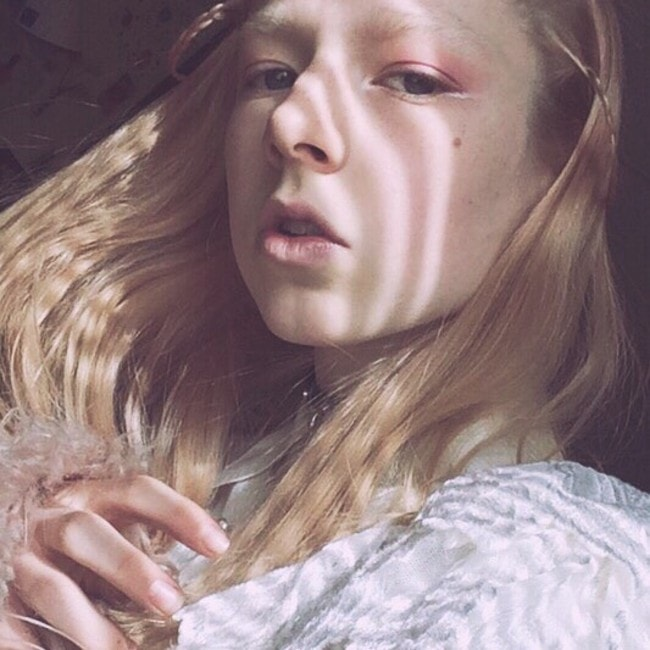Hunter Schafer as seen in February 2016