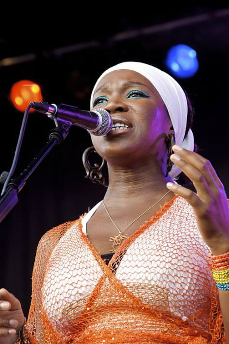 India.Arie at Mile High Music Festival in July 2009
