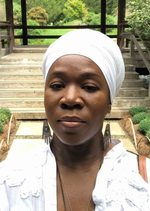 India.Arie in an Instagram selfie as seen in July 2019