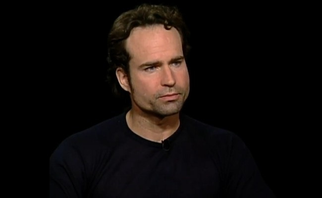 Jason Patric during an interview as seen in 2003