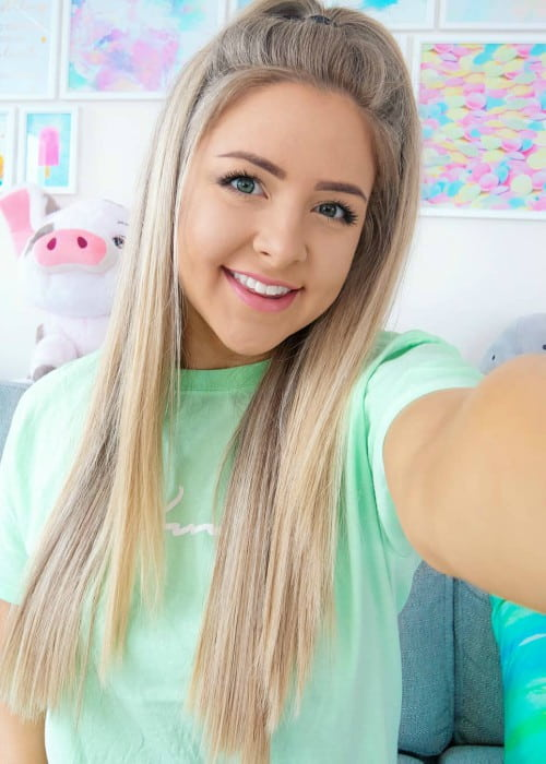 Jazzybum in an Instagram selfie as seen in March 2019