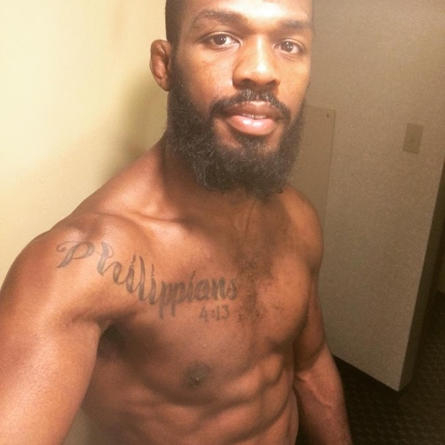 Jon Jones as seen in April 2016