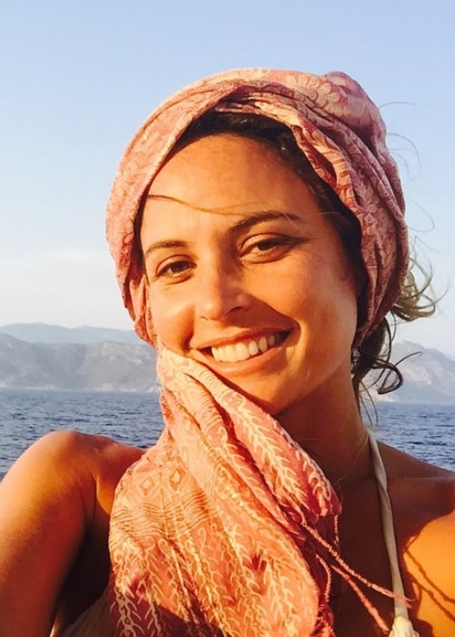 Josie Maran as seen while taking a no-filter selfie during her vacation in Turkey