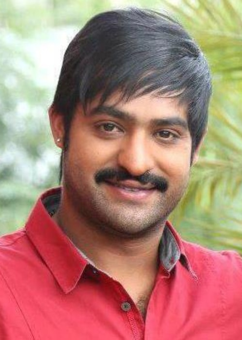 Jr. NTR as seen in a picture taken during his younger days