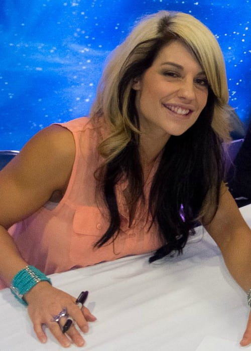 Kaitlyn as seen in March 2012