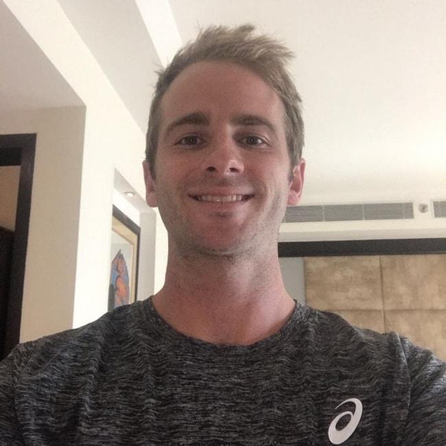 Kane Williamson as seen in a Instagram selfie in November 2017
