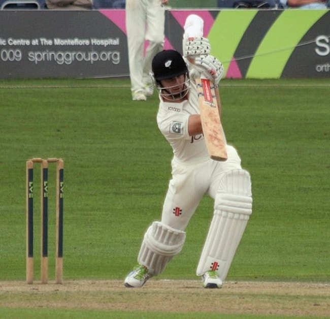 Kane Williamson as seen in a match batting against Sussex in September 2013