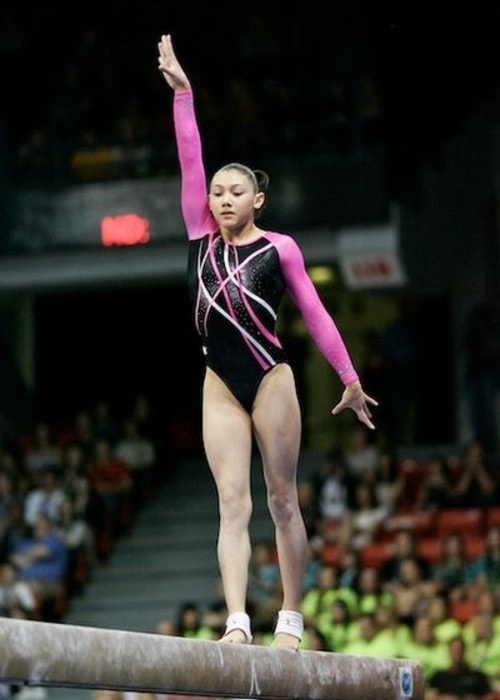 Kyla Ross as seen in May 2012