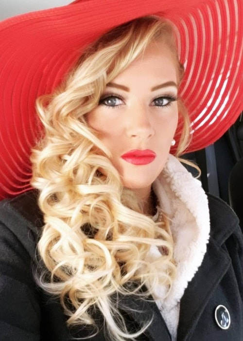Lacey Evans as seen in April 2019