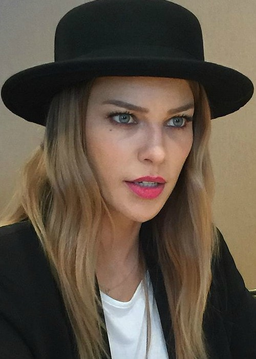 Lauren German during an event in July 2015