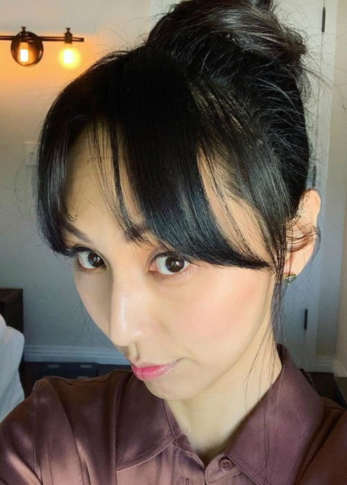 Linda Park in an Instagram selfie as seen in May 2019
